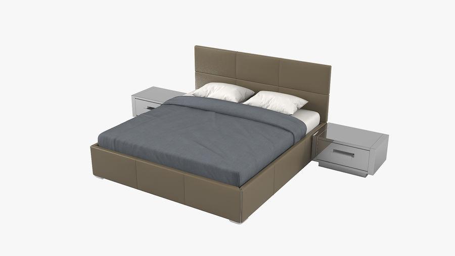 Yatak Odası Takımı royalty-free 3d model - Preview no. 2