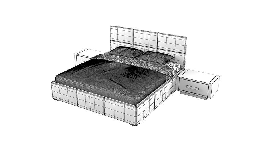 Yatak Odası Takımı royalty-free 3d model - Preview no. 9