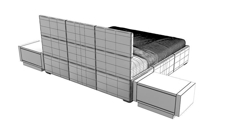 Yatak Odası Takımı royalty-free 3d model - Preview no. 11