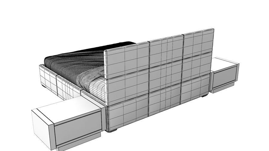 Yatak Odası Takımı royalty-free 3d model - Preview no. 12