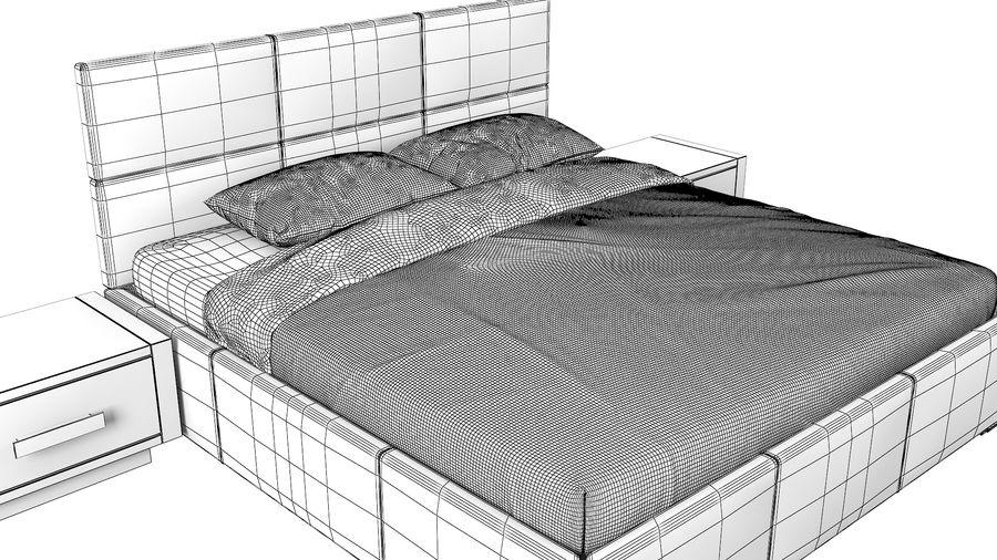 Yatak Odası Takımı royalty-free 3d model - Preview no. 14