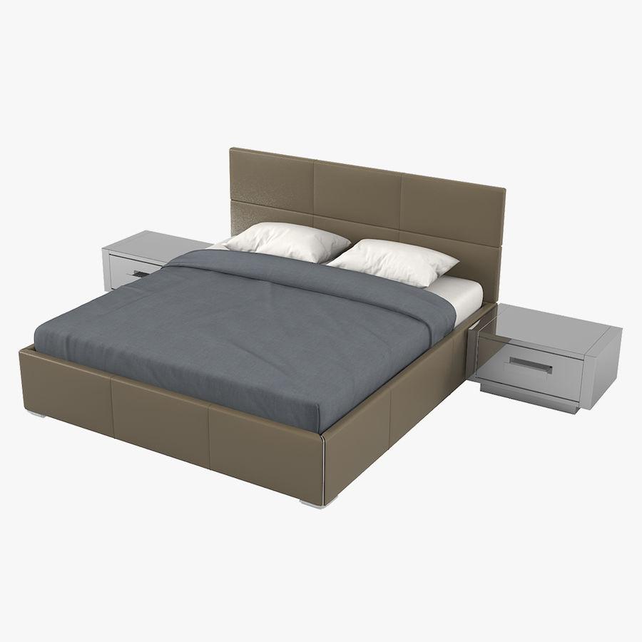 Yatak Odası Takımı royalty-free 3d model - Preview no. 1