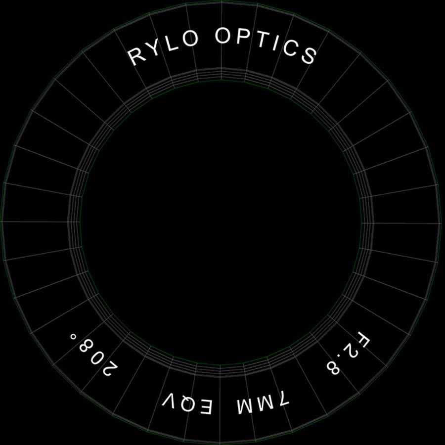 Cámara de video Rylo 360 royalty-free modelo 3d - Preview no. 39