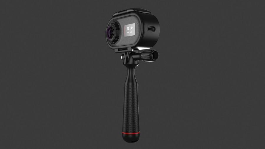 Cámara de video Rylo 360 royalty-free modelo 3d - Preview no. 5