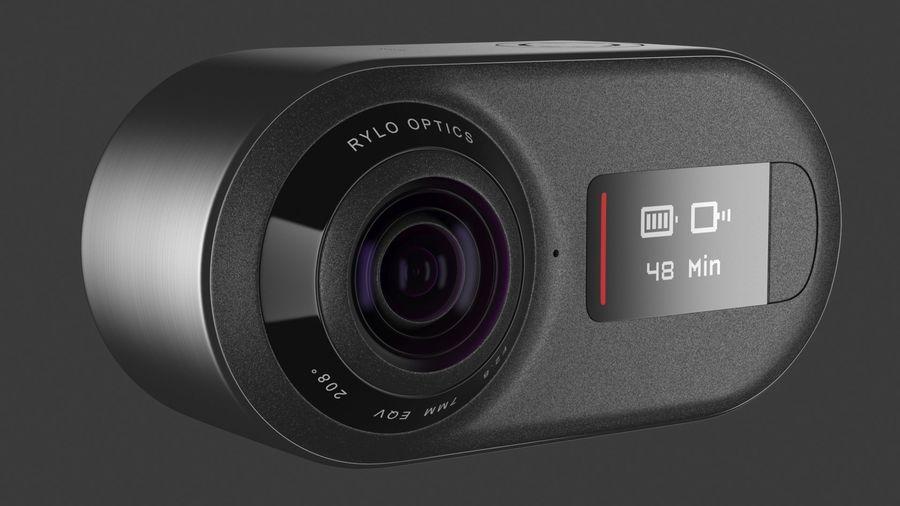 Cámara de video Rylo 360 royalty-free modelo 3d - Preview no. 15