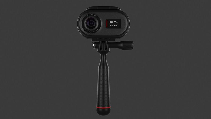 Cámara de video Rylo 360 royalty-free modelo 3d - Preview no. 6