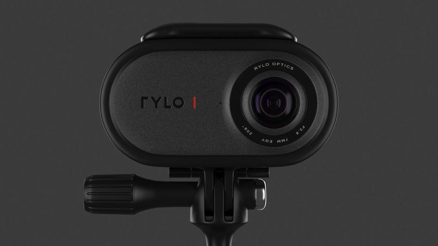 Cámara de video Rylo 360 royalty-free modelo 3d - Preview no. 10