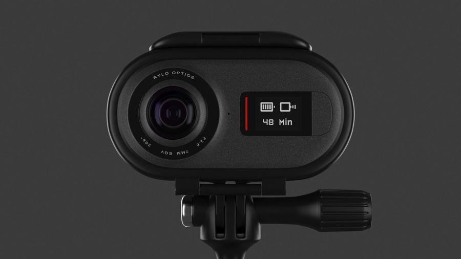Cámara de video Rylo 360 royalty-free modelo 3d - Preview no. 12