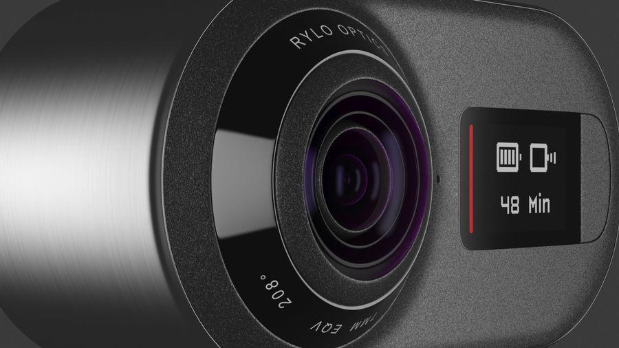 Cámara de video Rylo 360 royalty-free modelo 3d - Preview no. 19