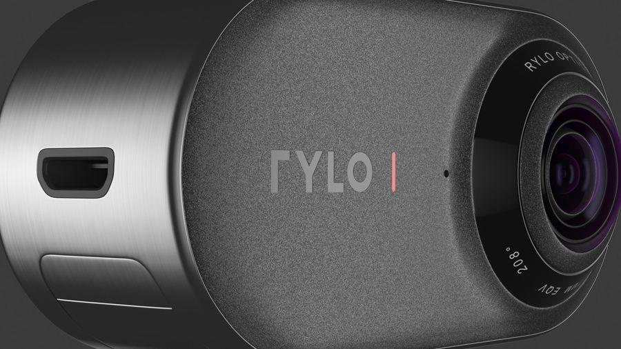 Cámara de video Rylo 360 royalty-free modelo 3d - Preview no. 18