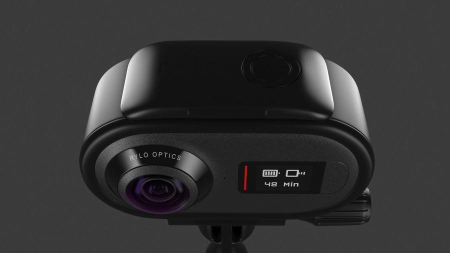 Cámara de video Rylo 360 royalty-free modelo 3d - Preview no. 13