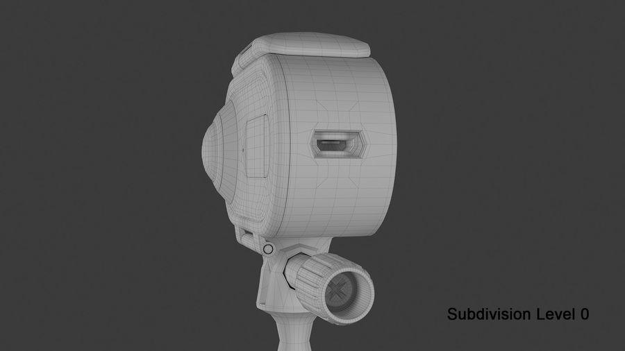 Cámara de video Rylo 360 royalty-free modelo 3d - Preview no. 30