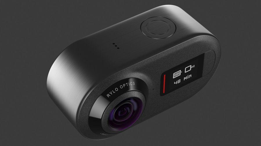 Cámara de video Rylo 360 royalty-free modelo 3d - Preview no. 16
