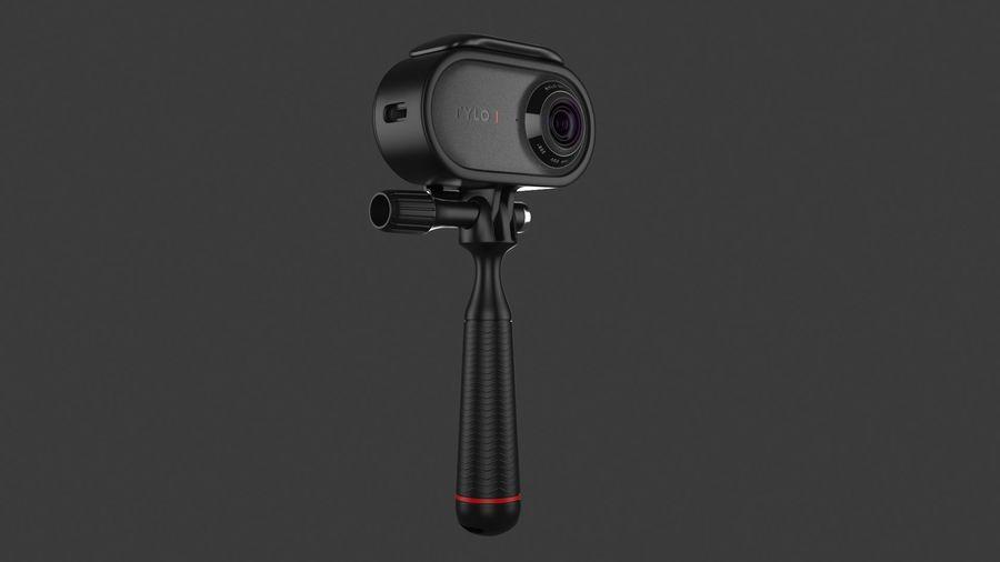 Cámara de video Rylo 360 royalty-free modelo 3d - Preview no. 3