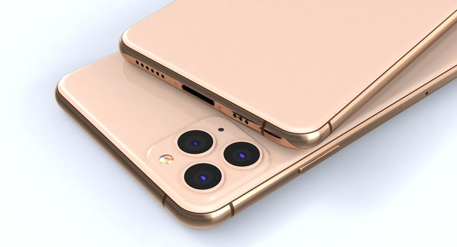 iPhone 11 Pro e iPhone 11 Pro Max e iPhone 11 royalty-free 3d model - Preview no. 26
