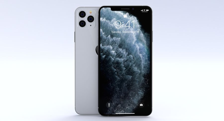 iPhone 11 Pro e iPhone 11 Pro Max e iPhone 11 royalty-free 3d model - Preview no. 24