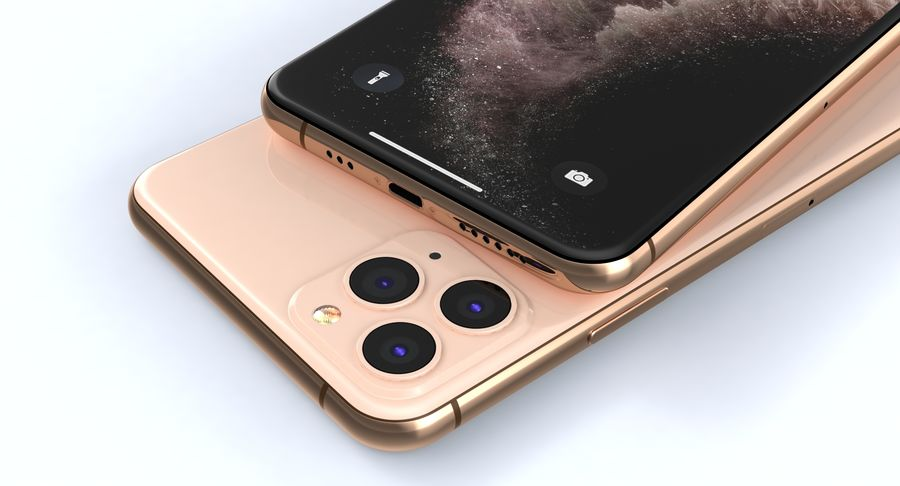 iPhone 11 Pro e iPhone 11 Pro Max e iPhone 11 royalty-free 3d model - Preview no. 8