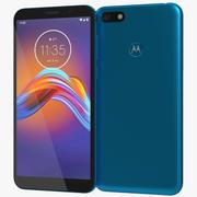 Motorola Moto E6 Gioca a Ocean Blue 3d model