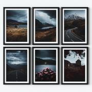 Posters - Scotland 3d model