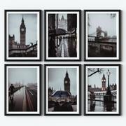 Affiches - Londres 3d model