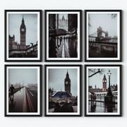 Posters - London 3d model
