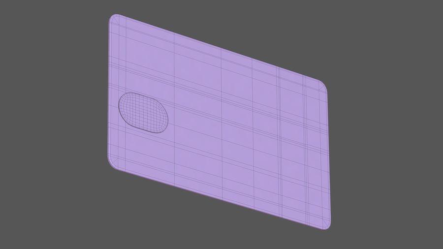 Kredietkaart royalty-free 3d model - Preview no. 15