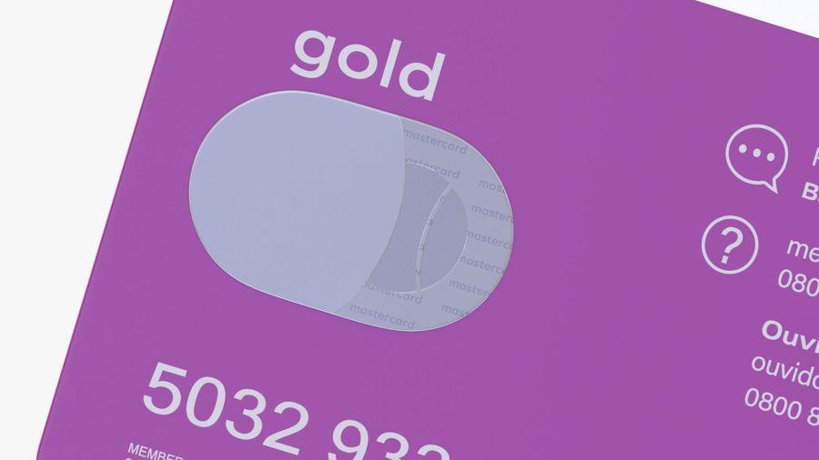 Kredietkaart royalty-free 3d model - Preview no. 9