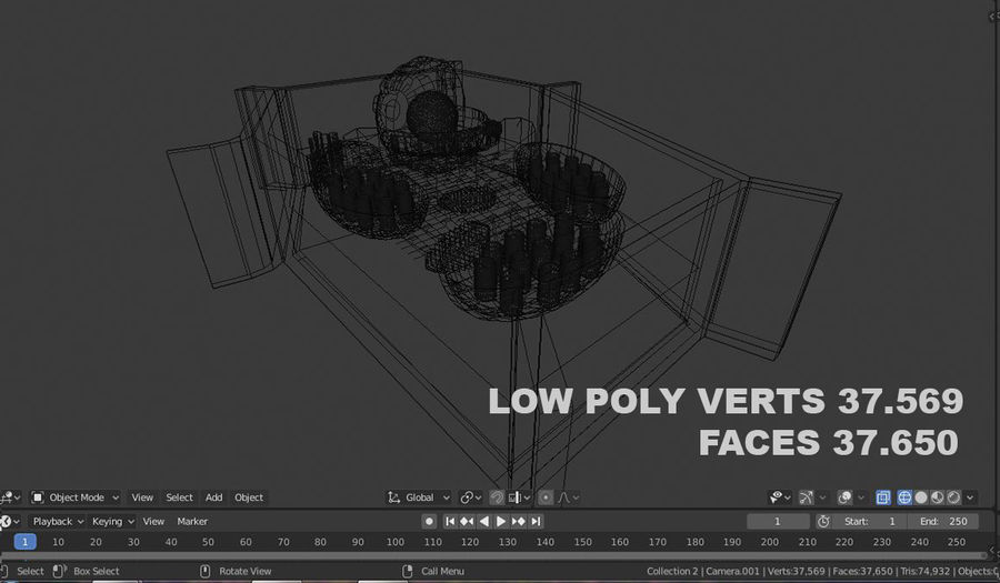 plant cell royalty-free 3d model - Preview no. 5