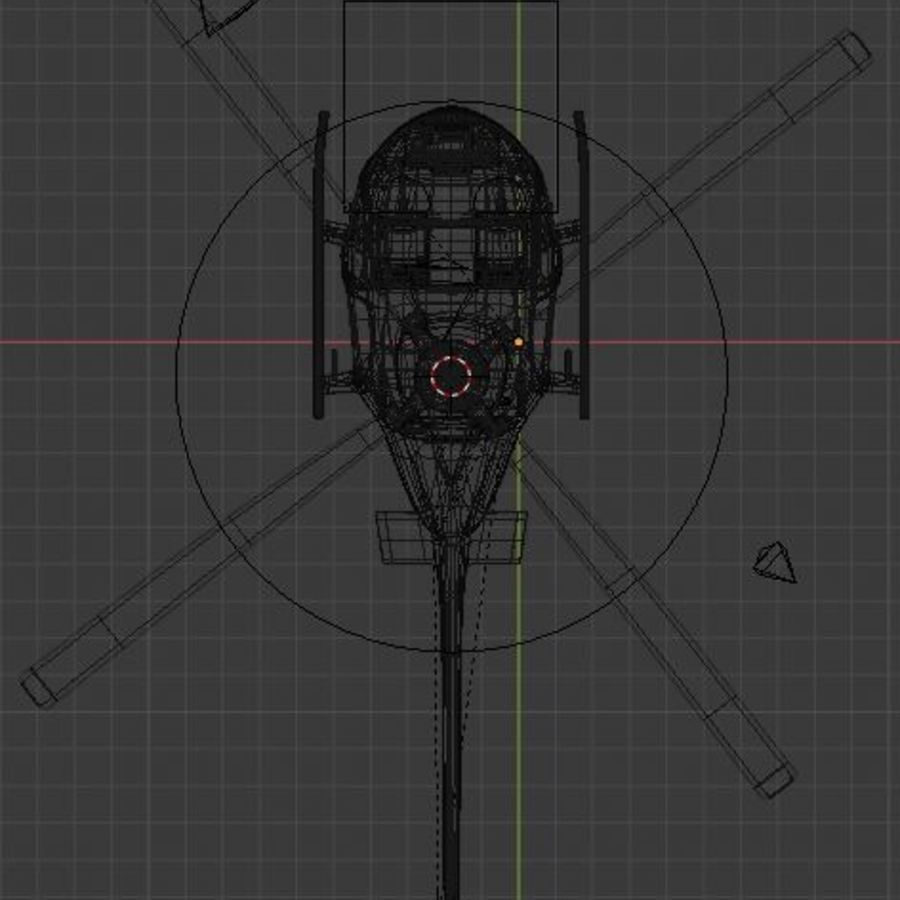 HELICOPTER royalty-free 3d model - Preview no. 8