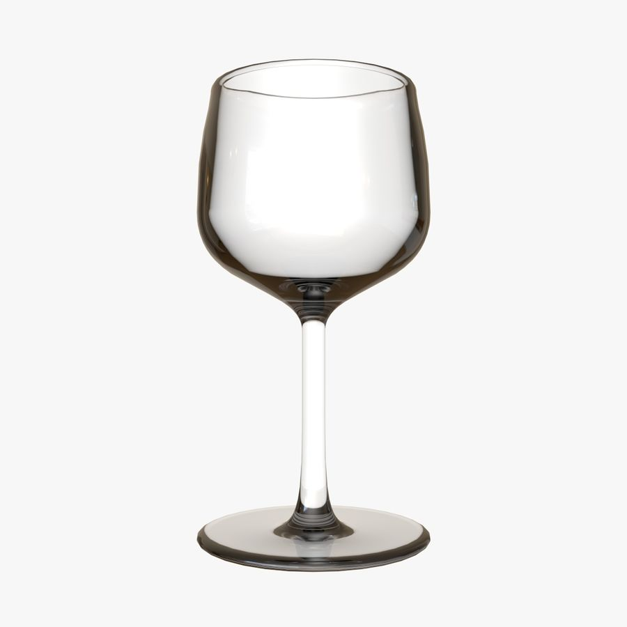 Glass Wine royalty-free 3d model - Preview no. 1