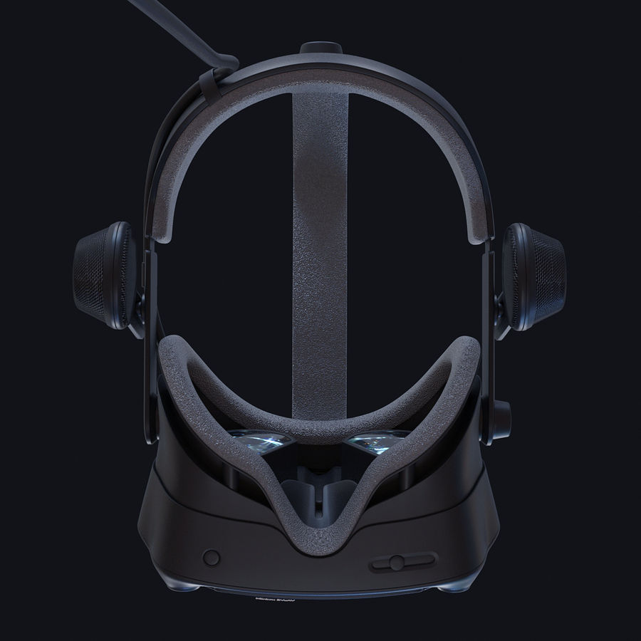 Valve Index royalty-free 3d model - Preview no. 4