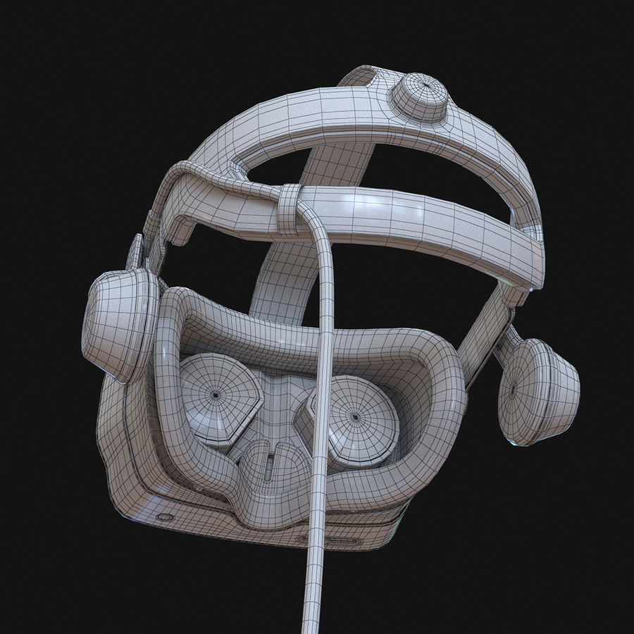 Valve Index royalty-free 3d model - Preview no. 7