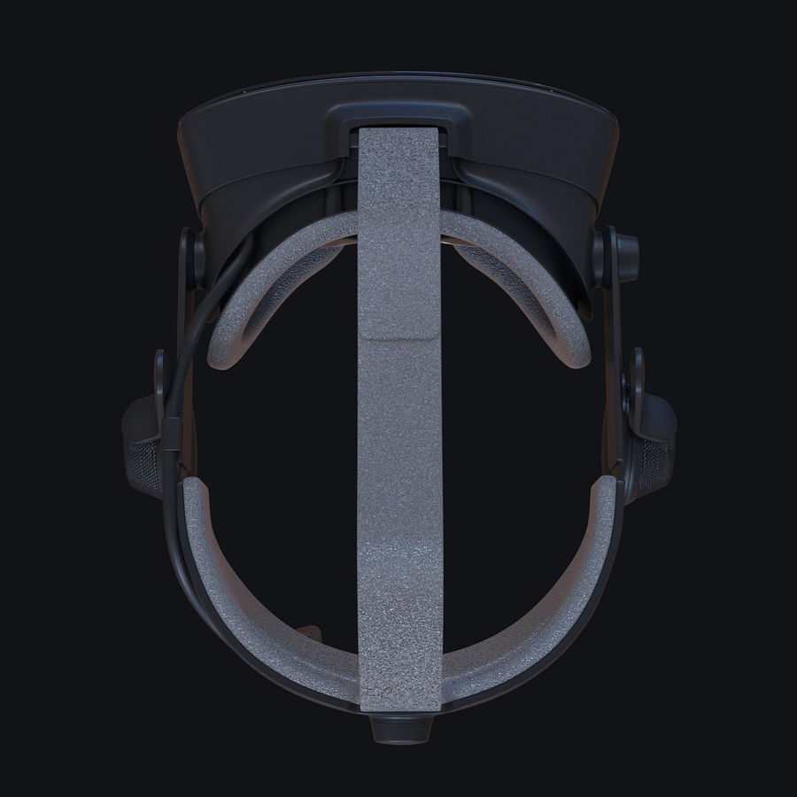 Valve Index royalty-free 3d model - Preview no. 5