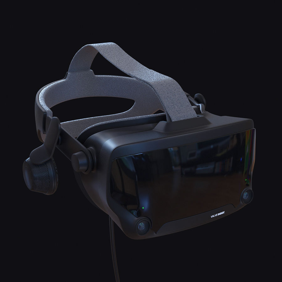Valve Index royalty-free 3d model - Preview no. 1