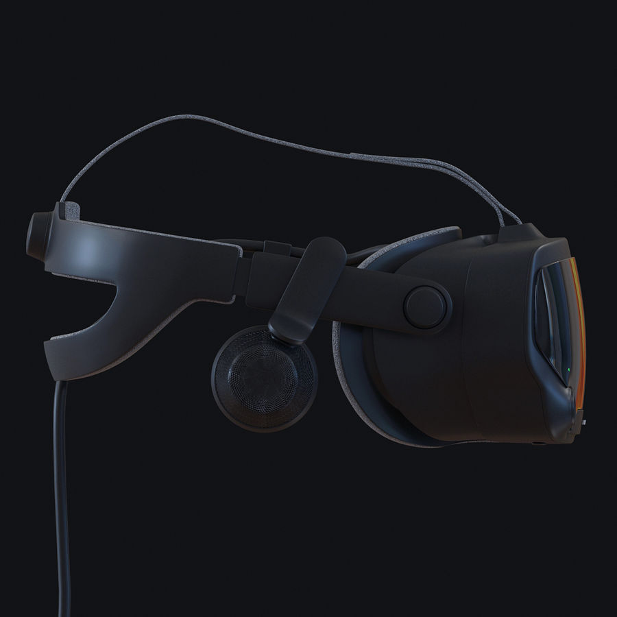 Valve Index royalty-free 3d model - Preview no. 3