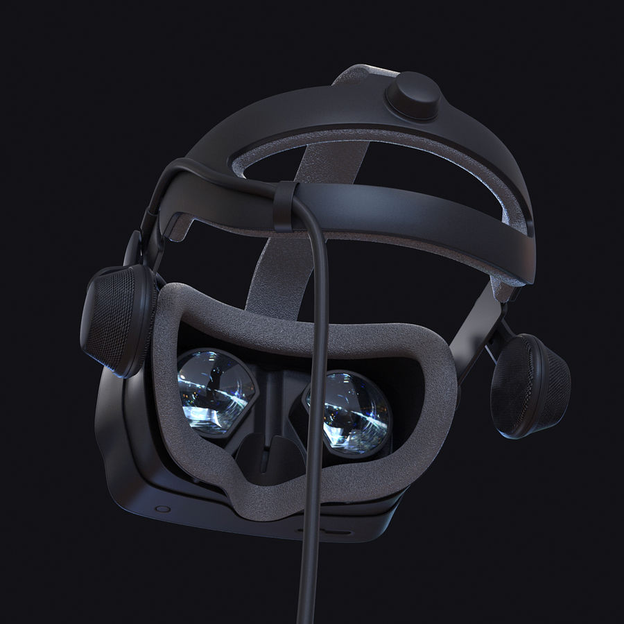 Valve Index royalty-free 3d model - Preview no. 2