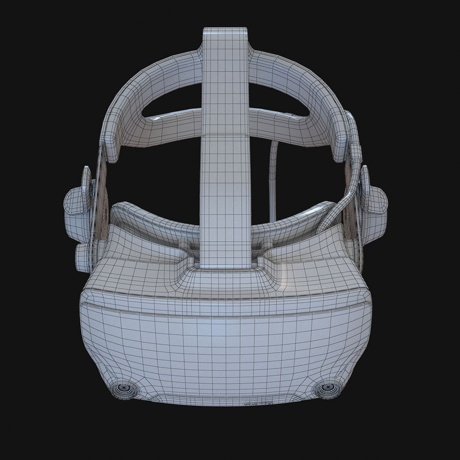Valve Index royalty-free 3d model - Preview no. 10