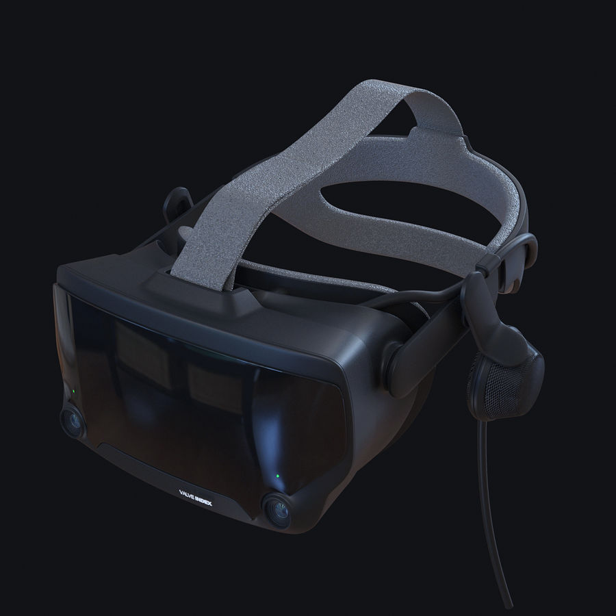 Valve Index royalty-free 3d model - Preview no. 6