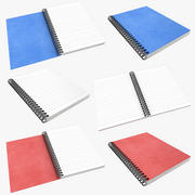 Notebook Collection 3d model