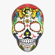 Squelette de masque Calavera 3d model