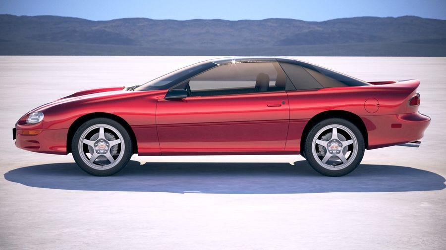 Chevrolet Camaro 1999 royalty-free modelo 3d - Preview no. 3
