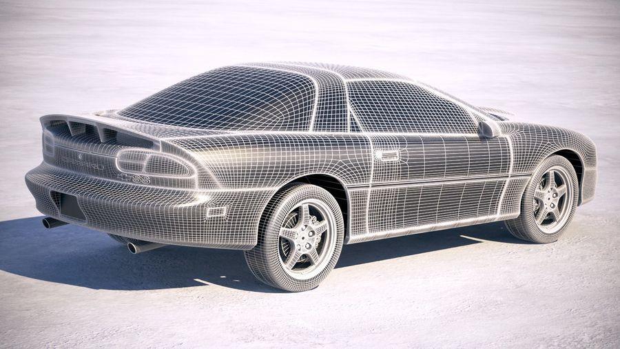 Chevrolet Camaro 1999 royalty-free modelo 3d - Preview no. 6