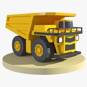 Toy Mining Truck 3d model