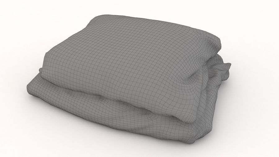 Yatak Örtüleri 08 royalty-free 3d model - Preview no. 3
