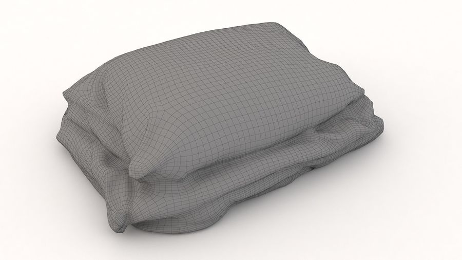 Yatak Örtüleri 08 royalty-free 3d model - Preview no. 12