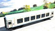 Demiryolu Vagonu 3d model