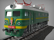 俄罗斯电力货运机车VL 23-001 3d model