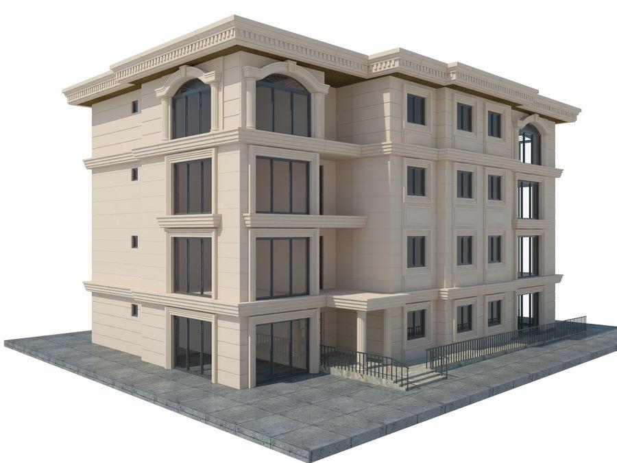 Bâtiments de la ville royalty-free 3d model - Preview no. 42