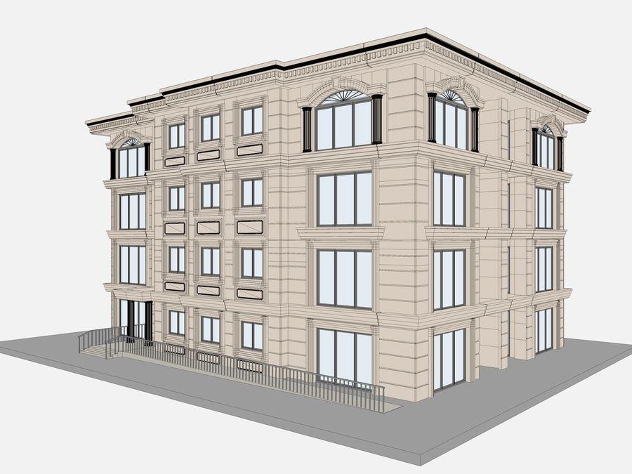 Bâtiments de la ville royalty-free 3d model - Preview no. 56
