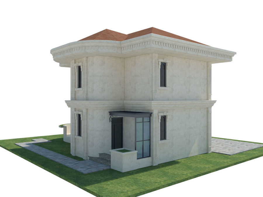 City Buildings royalty-free 3d model - Preview no. 53